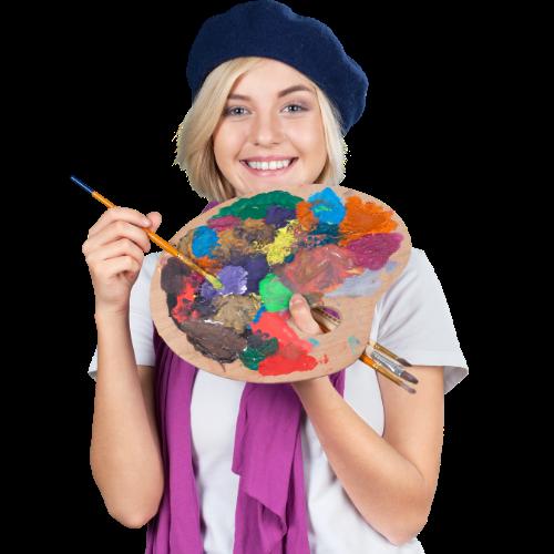 adulte painter